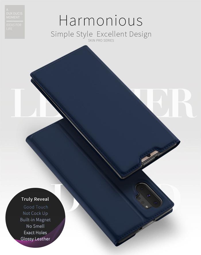 Bao da Galaxy Note 10 Plus Dux Ducis Skin khung mềm - siêu mỏng - siêu mịn 4