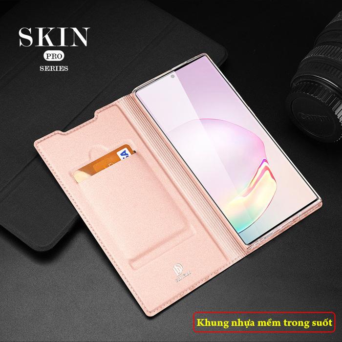Bao da Galaxy Note 20 Ultra / 5G Dux Ducis Skin siêu mỏng - siêu mịn 2