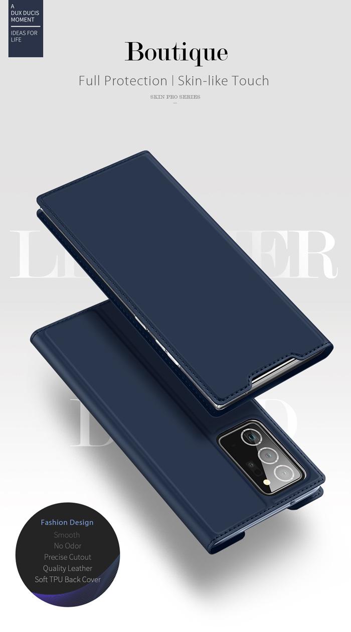 Bao da Galaxy Note 20 Ultra / 5G Dux Ducis Skin siêu mỏng - siêu mịn 5