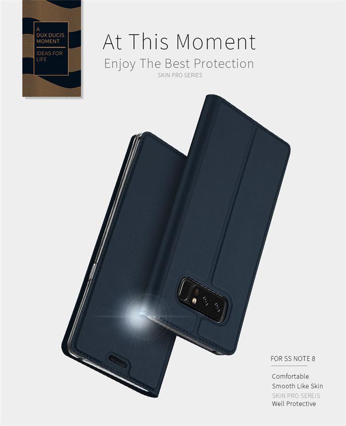 Bao da Galaxy Note 8 Dux Ducis Skin khung mềm siêu mỏng 1