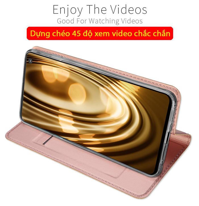 Bao da Galaxy S10 Dux Ducis Skin khung mềm - siêu mỏng - siêu mịn 3