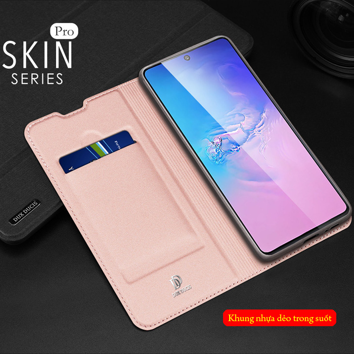 Bao da Galaxy S10 Lite Dux Ducis Skin khung mềm - siêu mỏng - siêu mịn 2