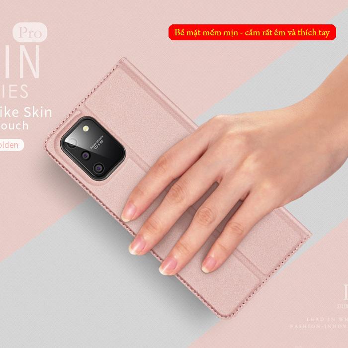 Bao da Galaxy S10 Lite Dux Ducis Skin khung mềm - siêu mỏng - siêu mịn 1