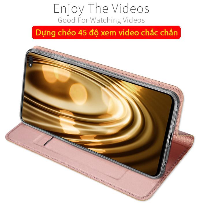 Bao da Galaxy S10 Plus Dux Ducis Skin khung mềm - siêu mỏng - siêu mịn 3