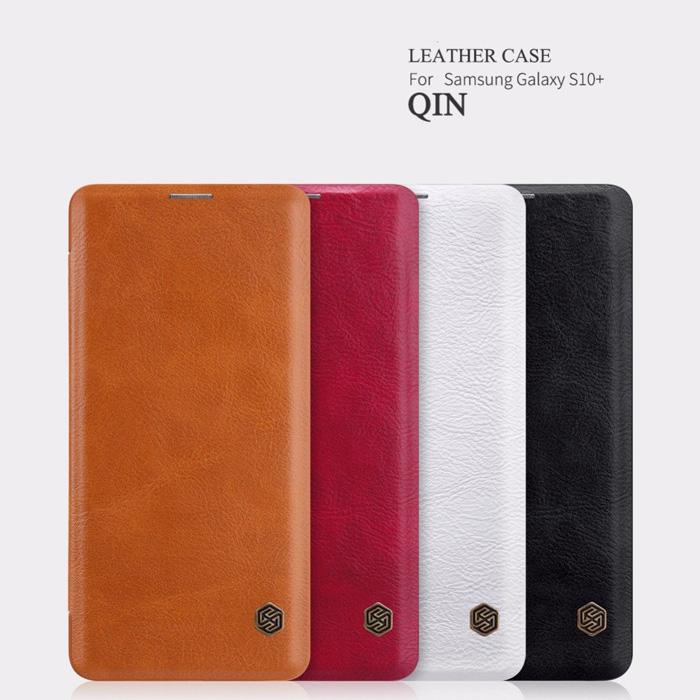 Bao da Galaxy S10 Plus Nillkin Qin Leather sang trọng - cổ điển 1