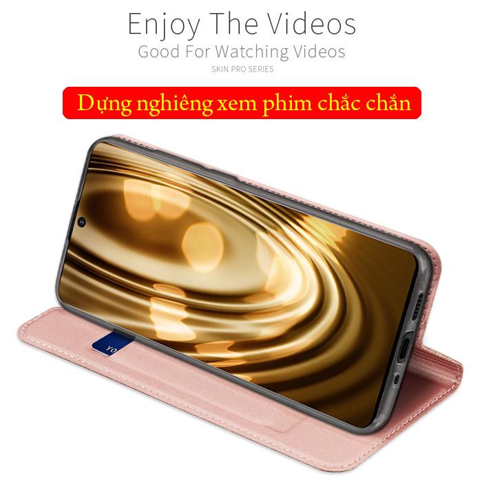 Bao da Galaxy S20 Dux Ducis Skin khung mềm - siêu mỏng - siêu mịn 3