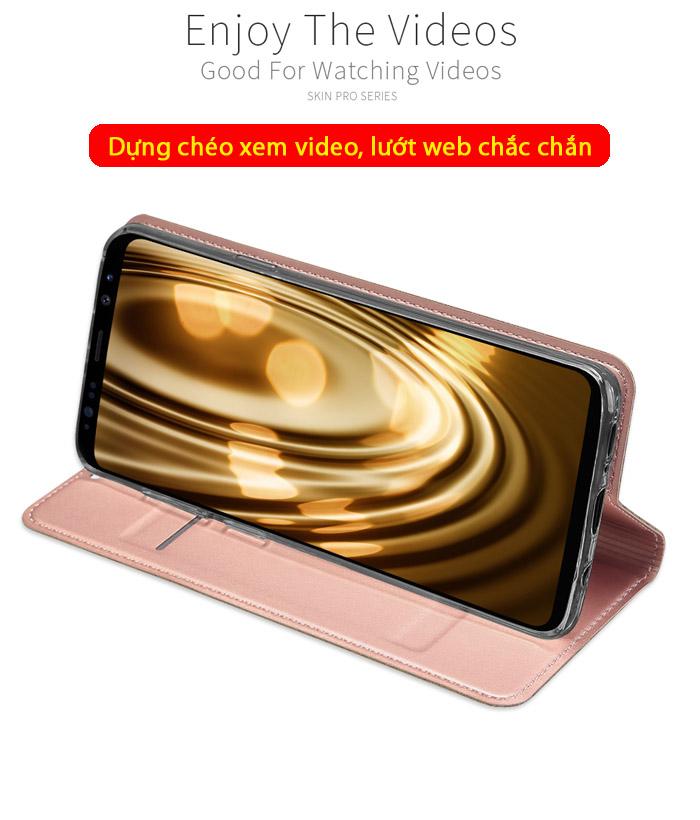 Bao da Galaxy S9 Plus Dux Ducis Skin khung mềm, siêu mỏng, siêu mềm 4