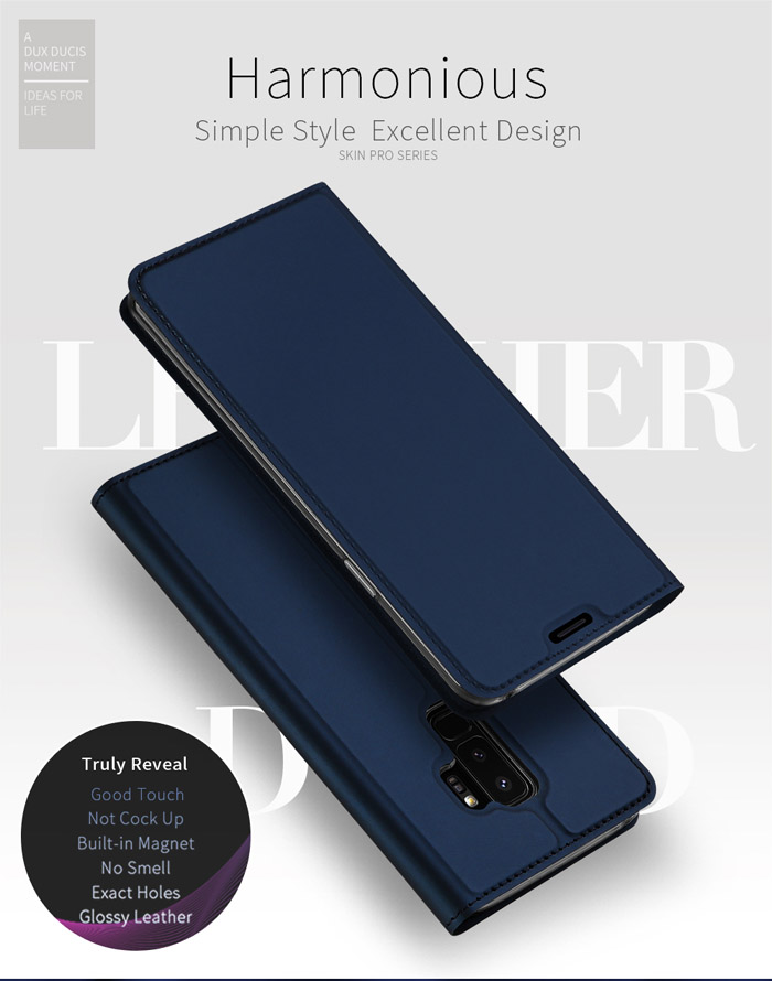 Bao da Galaxy S9 Plus Dux Ducis Skin khung mềm, siêu mỏng, siêu mềm 1