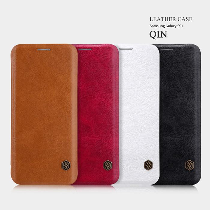 Bao da Galaxy S9 Plus Nillkin Qin Leather sang trọng cổ điển 1