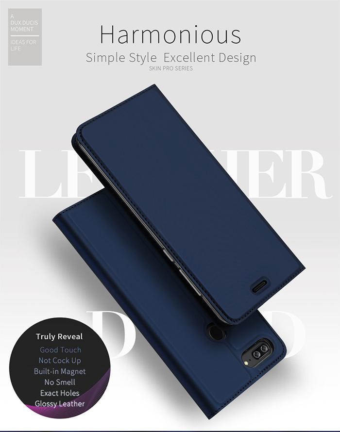 Bao da Honor 9 Lite Dux Ducis Skin khung mềm - siêu mỏng nhẹ 1