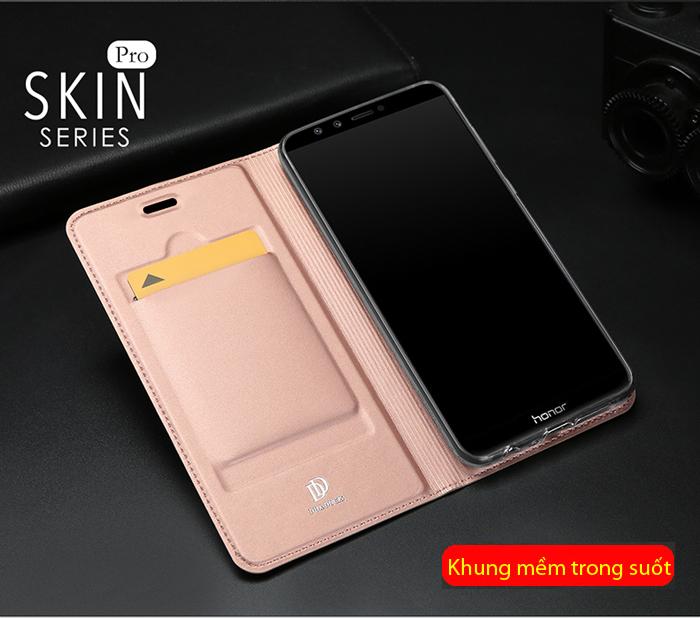 Bao da Honor 9 Lite Dux Ducis Skin khung mềm - siêu mỏng nhẹ 2