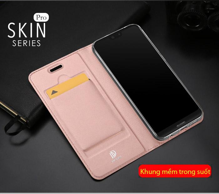 Bao da Huawei Nova 3E Dux Ducis Skin khung mềm - siêu mỏng 2