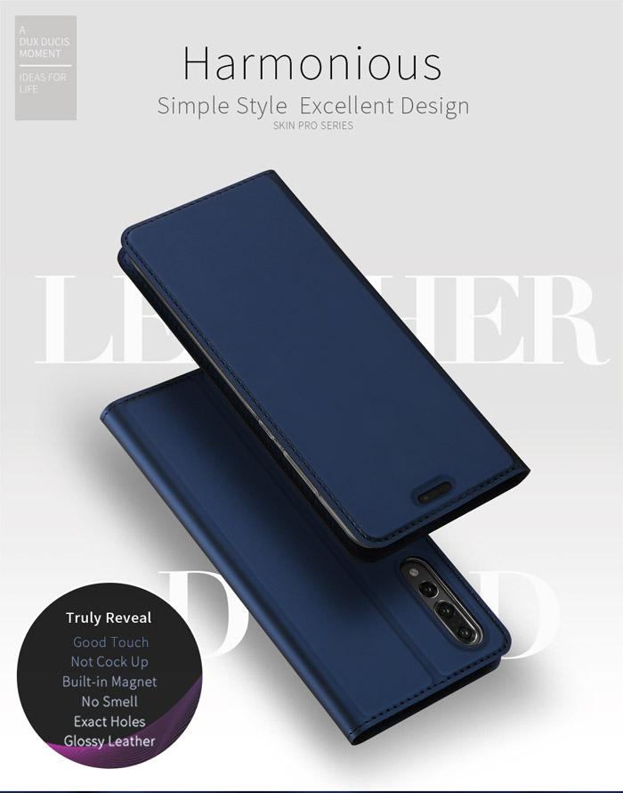 Bao da Huawei P20 Pro Dux Ducis Skin siêu mỏng - khung mềm 1