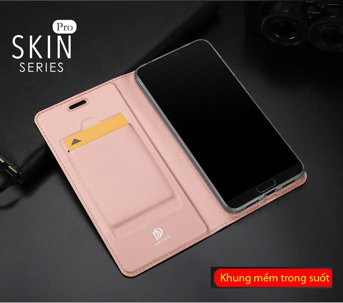 Bao da Huawei P20 Pro Dux Ducis Skin siêu mỏng - khung mềm 2