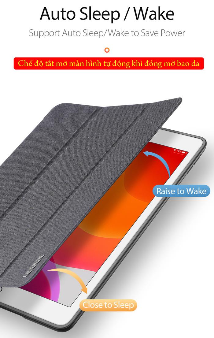 Bao da iPad 10.2 inch 2019 Ducc Ducis Domo Tiện Lợi - Chống Sốc 3