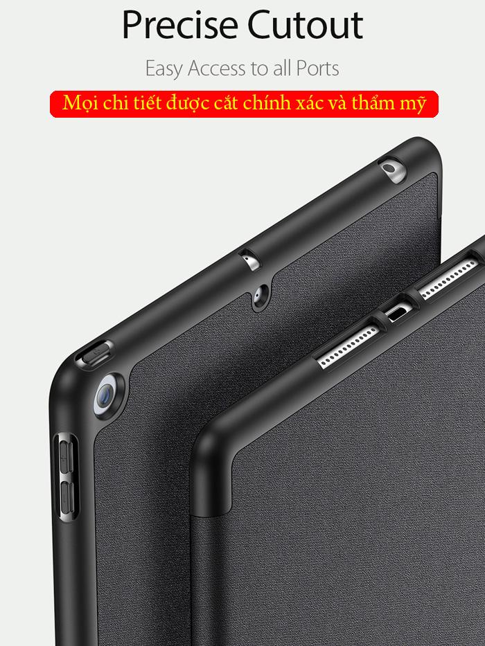 Bao da iPad 10.2 inch 2019 Ducc Ducis Domo Tiện Lợi - Chống Sốc 7