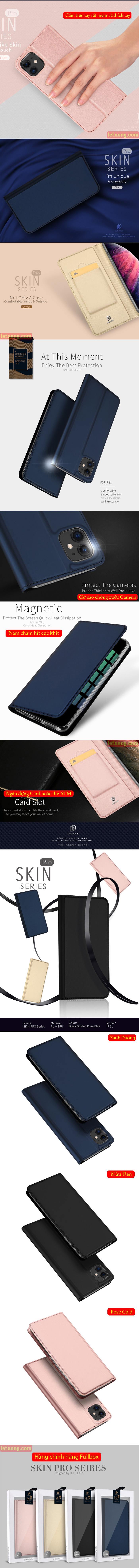 Bao da iPhone 11 Dux Ducis Skin khung mềm siêu mỏng - mềm mịn 5
