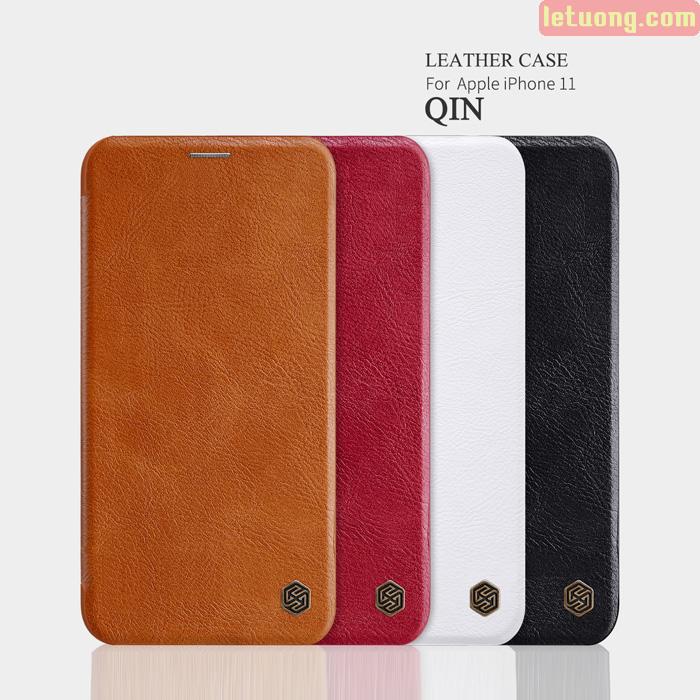 Bao da iPhone 11 Nillkin Qin Leather sang trọng - cổ điển 1