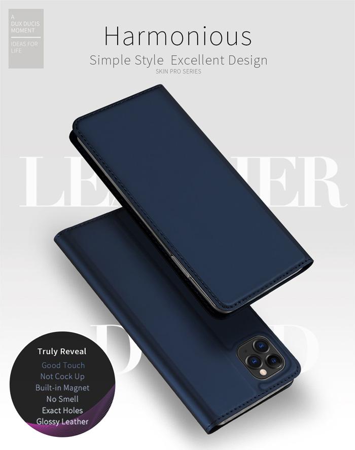 Bao da iPhone 11 Pro Max Dux Ducis Skin khung mềm siêu mỏng 1