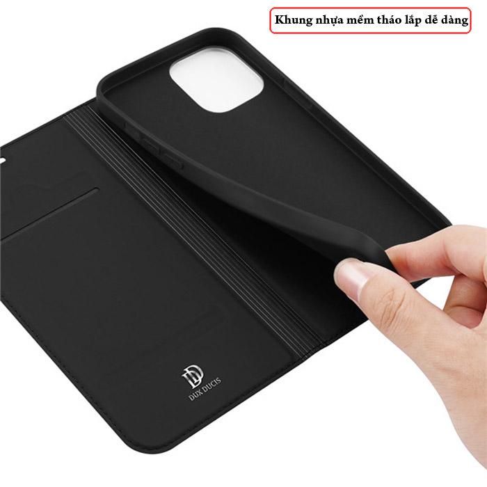 Bao da iPhone 12 Mini Dux Ducis Skin Siêu mỏng - mềm mịn 2