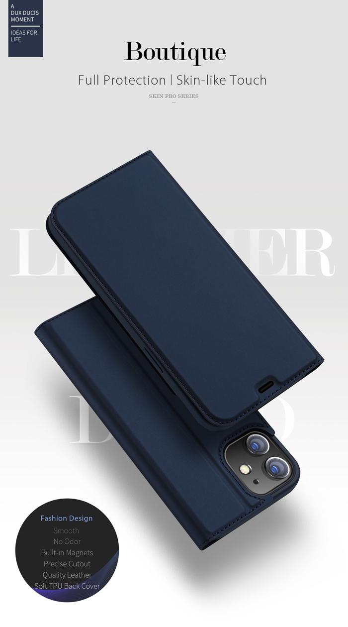 Bao da iPhone 12 Mini Dux Ducis Skin Siêu mỏng - mềm mịn 1