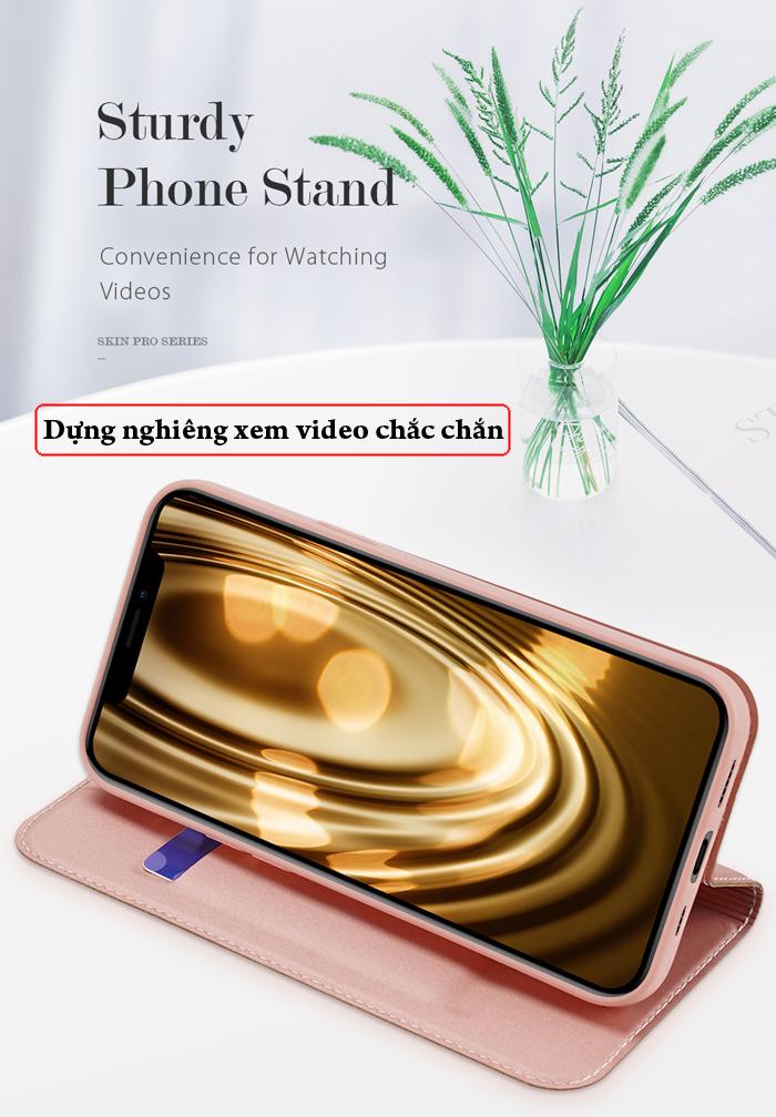 Bao da iPhone 12 Pro / iPhone 12 Dux Ducis Skin siêu mỏng - mềm mịn 4