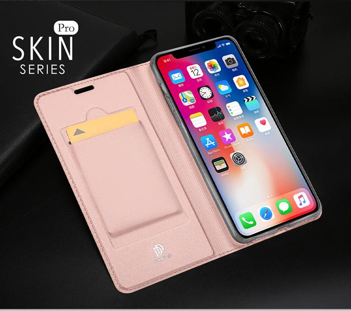 Bao da iPhone Xs Max Dux Ducis Skin khung mềm siêu mỏng 2