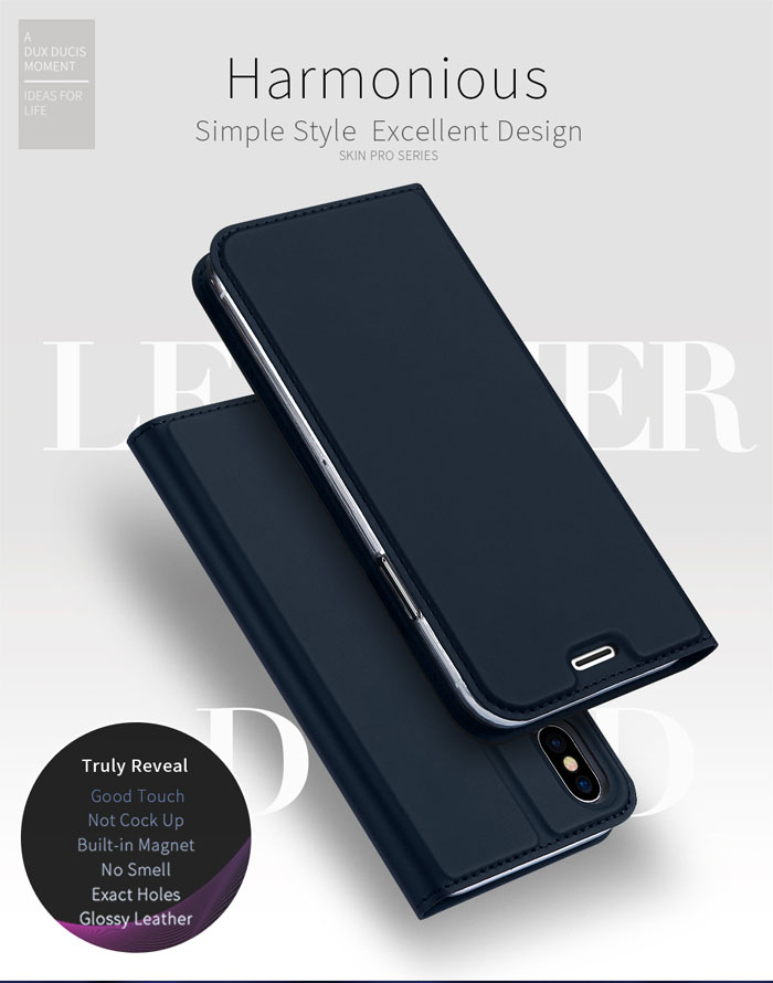 Bao da iPhone Xs Max Dux Ducis Skin khung mềm siêu mỏng 1