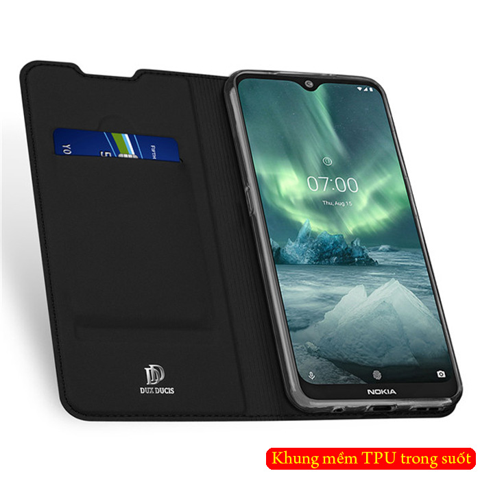Bao da Nokia 7.2 Dux Ducis Skin khung mềm - siêu mỏng - siêu mịn 2