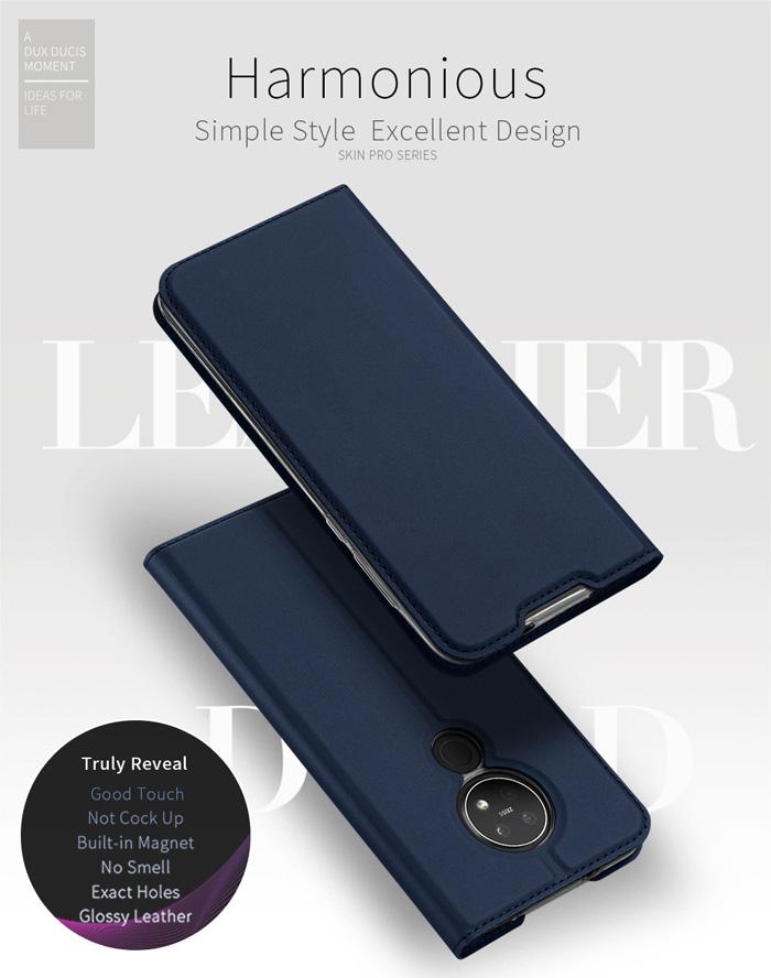 Bao da Nokia 7.2 Dux Ducis Skin khung mềm - siêu mỏng - siêu mịn 4