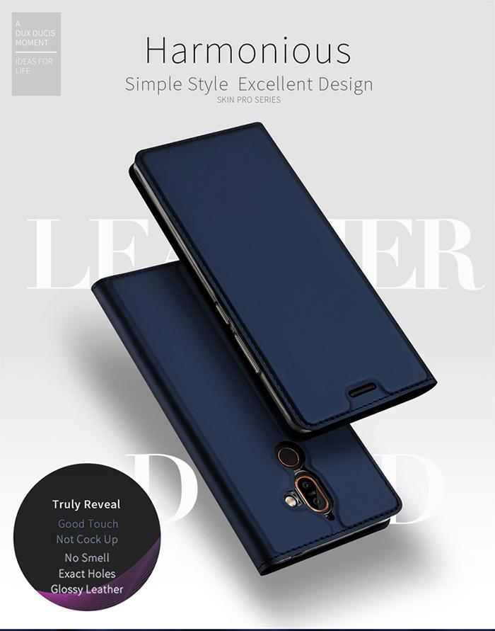 Bao da Nokia 7 Plus Dux Ducis Skin khung mềm - siêu mỏng 1