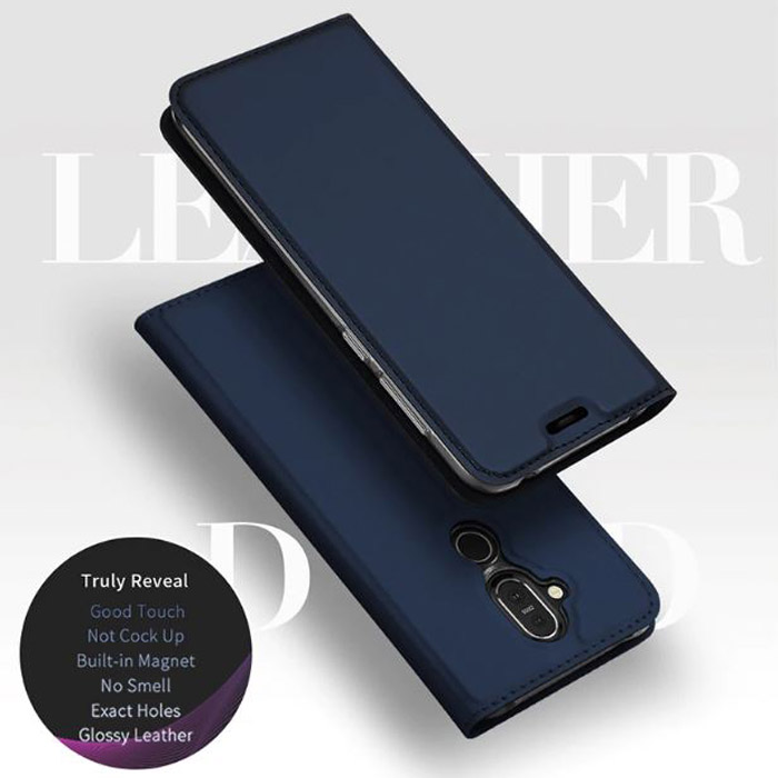 Bao da Nokia 8.1 Dux Ducis Skin khung mềm - siêu mỏng - siêu mịn 4
