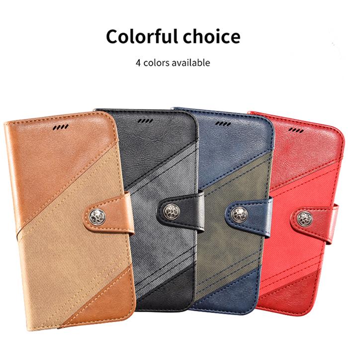Bao da Oppo A9 2020 LT Wallet Retro dạng ví - khung mềm 1