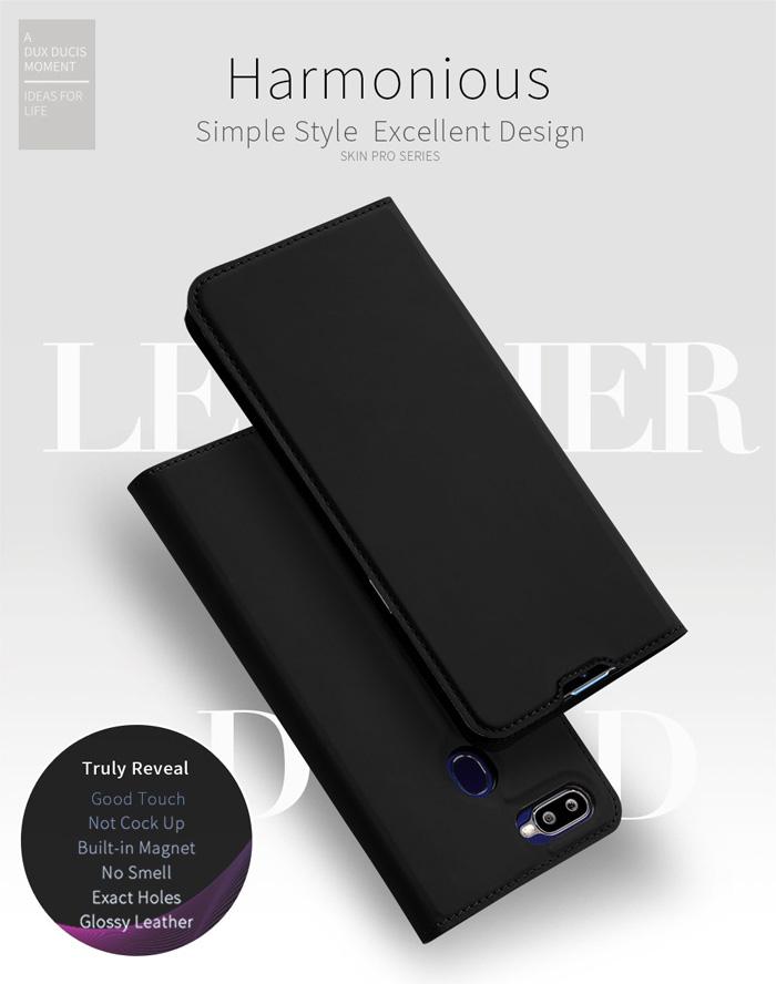Bao da Oppo F9 Dux Ducis Skin khung mềm - siêu mỏng - siêu êm 1