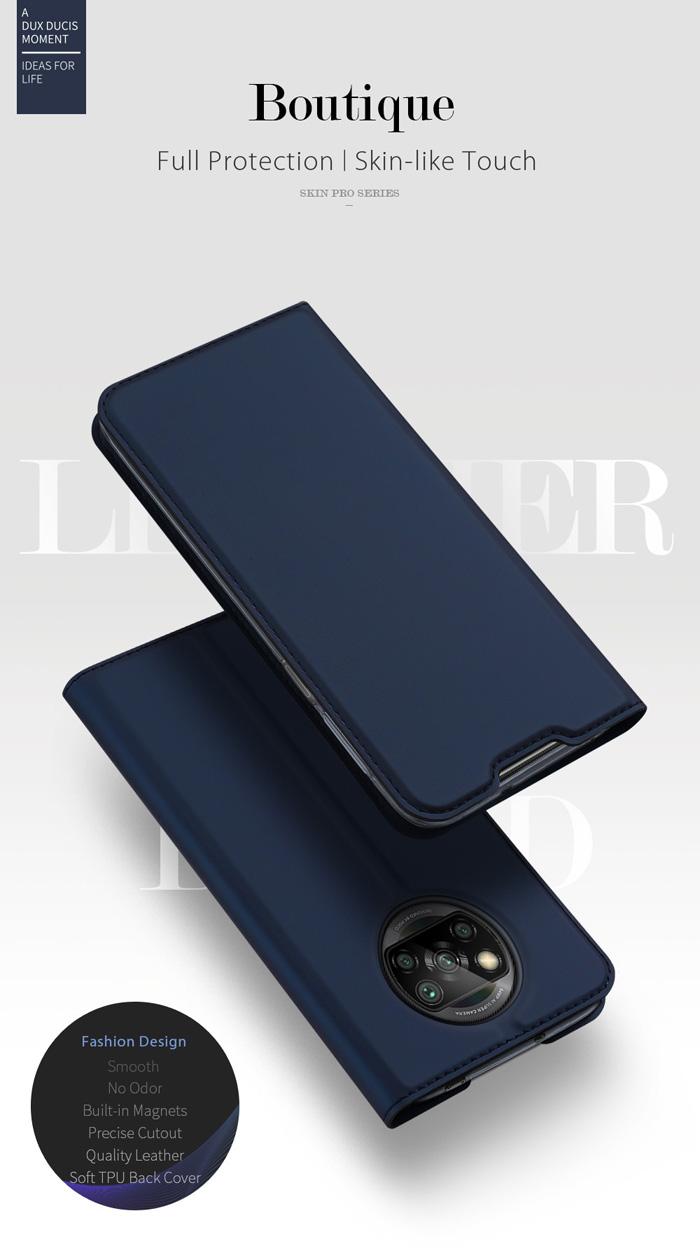 Bao da Poco X3 Pro Dux Ducis Skin Siêu mỏng nhẹ Êm - Mềm - Mịn 1