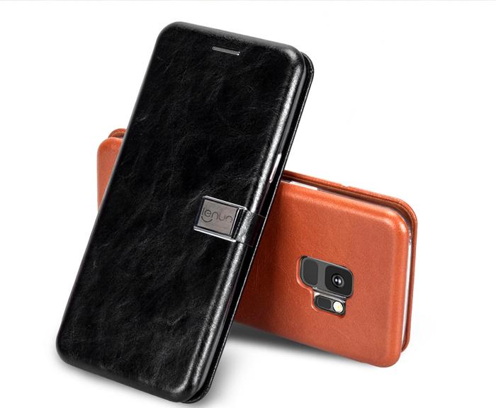 Bao da Samsung Galaxy S9 Lenuo Lebe Flip Case tuyệt đẹp - sang trọng 1