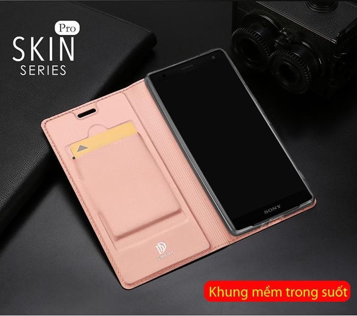 Bao da Sony Xperia XZ2 Dux Ducis Skin khung mềm - siêu mỏng 2