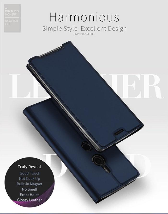 Bao da Sony Xperia XZ3 Dux Ducis Skin khung mềm - siêu mỏng 1