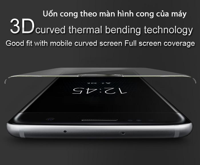 Kính cường lực HTC U11 Imak 3D Edge Full cong theo màn hình 1