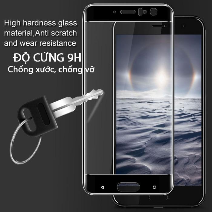 Kính cường lực HTC U11 Imak 3D Edge Full cong theo màn hình 2