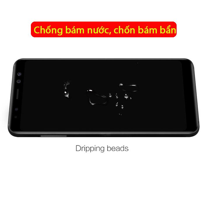 Kính cường lực Galaxy A8 2018 Mocolo 3D Edge full cong theo màn hình 3