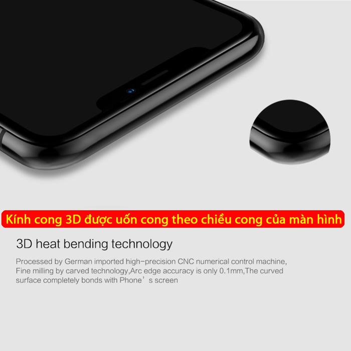 Kính cường lực iPhone Xs Max Nillkin 3D CP+ Max full toàn màn hình 1