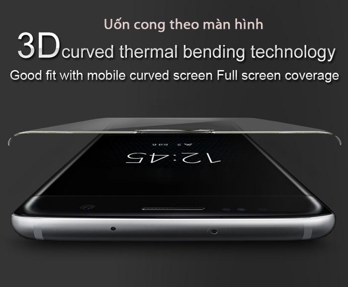 Kính cường lực Sony XA1 Ultra Imak 3D Edge full cong theo màn hình 1