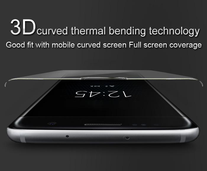 Ốp lưng Sony XA2 Imak 3D Edge full cong theo toàn màn hình 1