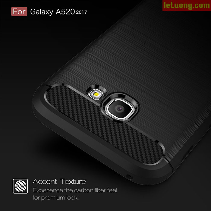 Ốp lưng Galaxy A5 2017 Viseaon Rugged Armor nhựa mềm
