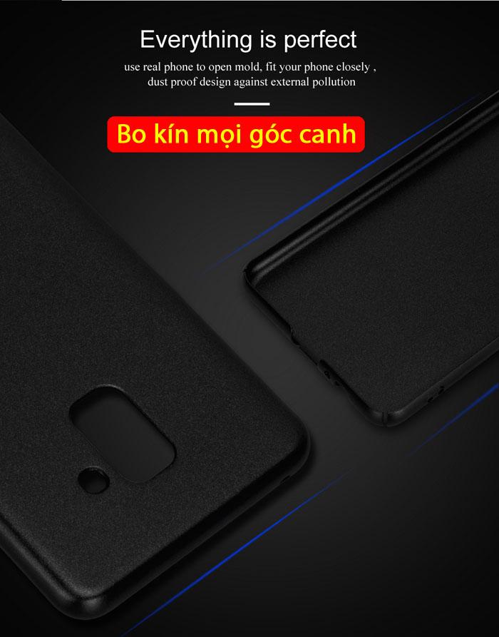 Ốp lưng Galaxy A8 2018 Lenuo Leshield Case siêu mỏng, siêu nhẹ 2