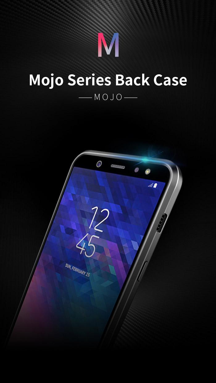 Ốp lưng Galaxy A6 Plus 2018 Dux Ducis Mojo Carbon Fiber nhựa mềm 6