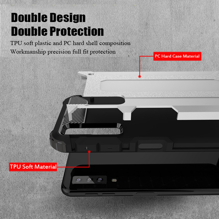 Ốp lưng Galaxy A7 2018 LT Tough Tech Armor chống sốc - cực ngầu 2