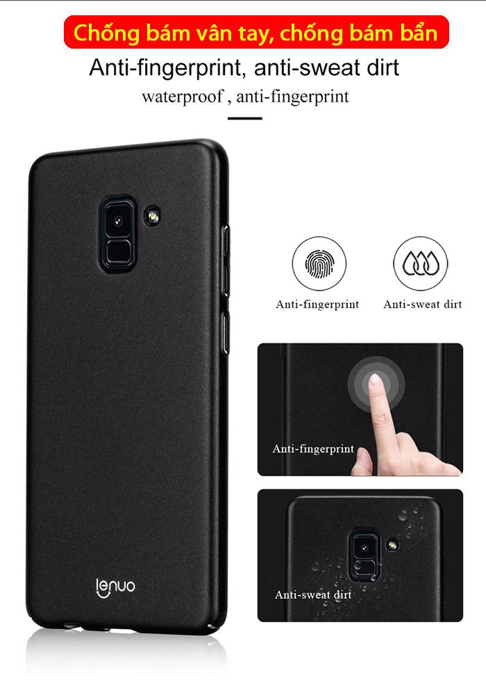 Ốp lưng Galaxy A8 Plus 2018 ( A8+ 2018 ) Lenuo Leshield Case siêu mỏng 1