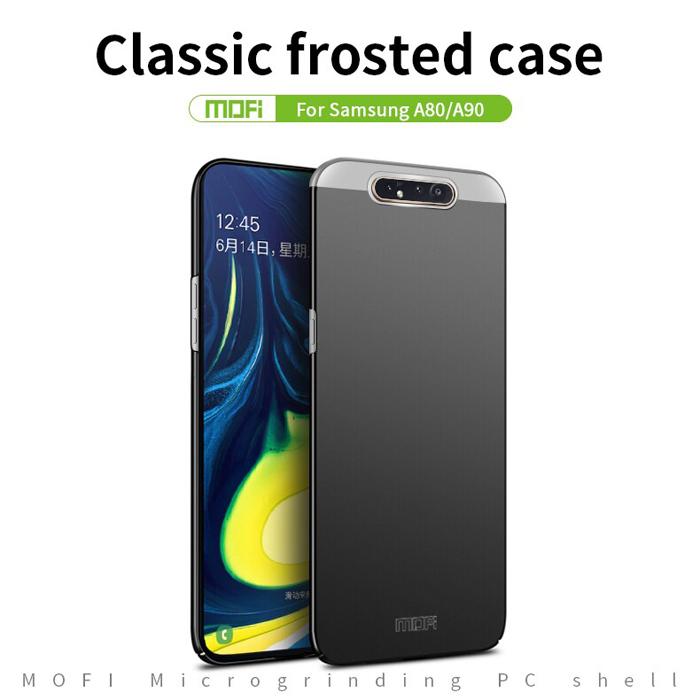 Ốp lưng Galaxy A80 Mofi Fitted Case 360 siêu mỏng, lưng mịn 3